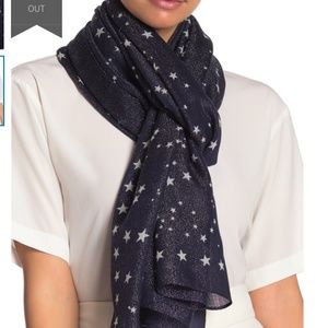 kate spade Accessories - NWOT Kate Spade Night Sky Wool Blend Scarf